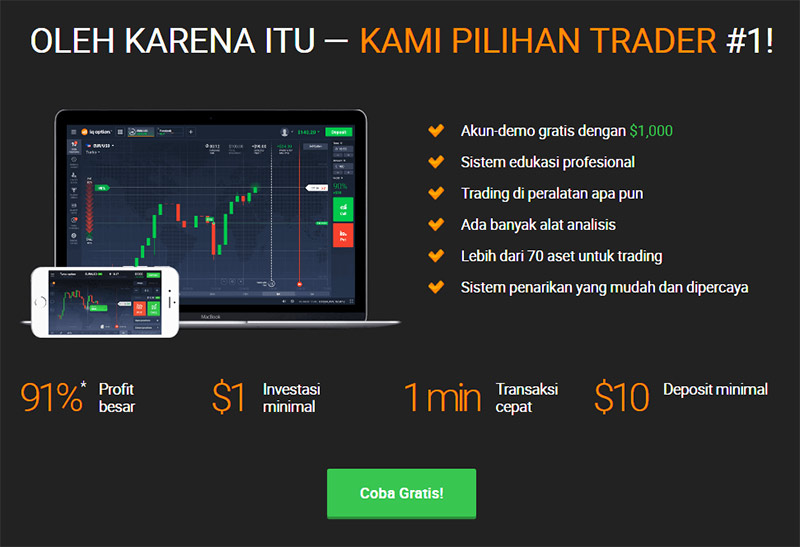 cara menang binary option